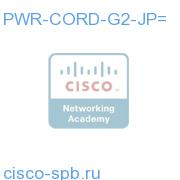 PWR-CORD-G2-JP=